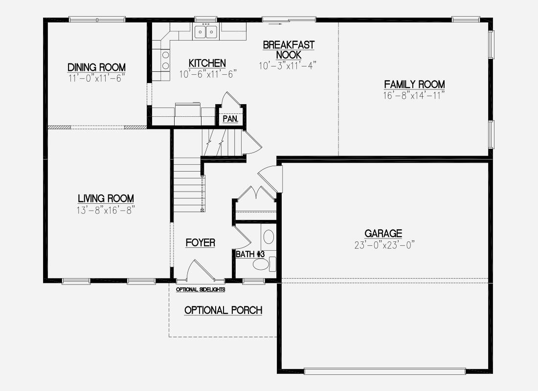 Floor Plan. Edison Height   Icon legacy Custom Modular Homes