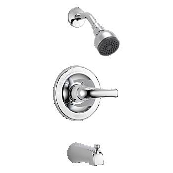 Single Lever Handle Tub & Shower Faucet Trim Kit