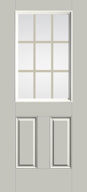 S262 - 9-Lite Door