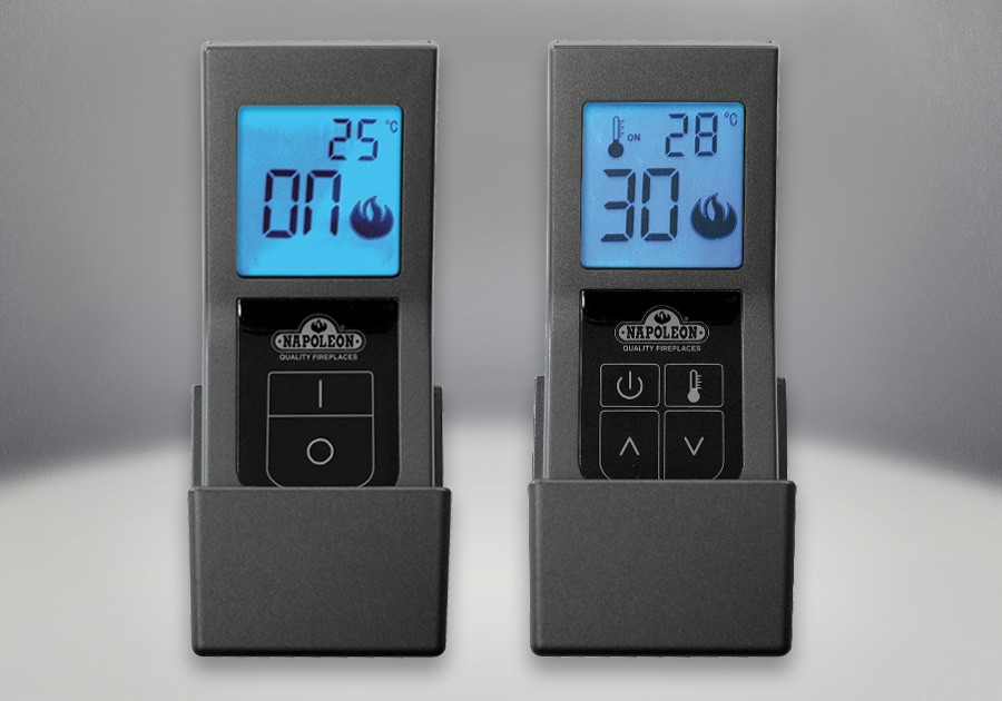F45 & F60 Remote Controls, On/Off with Digital Screen